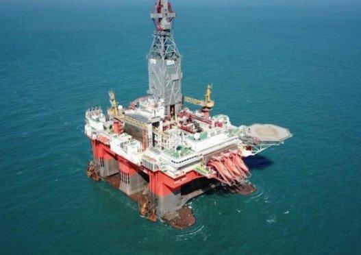Desentupidora de plataforma marítimas