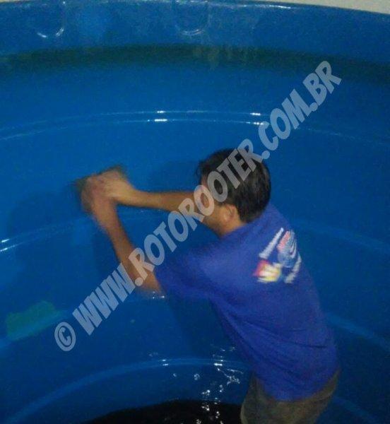 Empresa que faz limpeza de caixa d água
