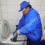Desentupidora de vasos sanitários